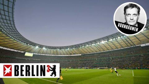 BERLIN³: Das Pokalfinale im Mai mit 75.000 Zuschauern. Keine Spinnerei – sondern eine Vision