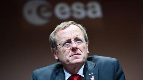 Esa-Direktor Jan Wörner mit skeptischem Blick