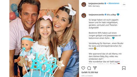 Vip News: Ex-Eiskunstläuferin Tanja Szewczenko verrät Baby-Geschlecht