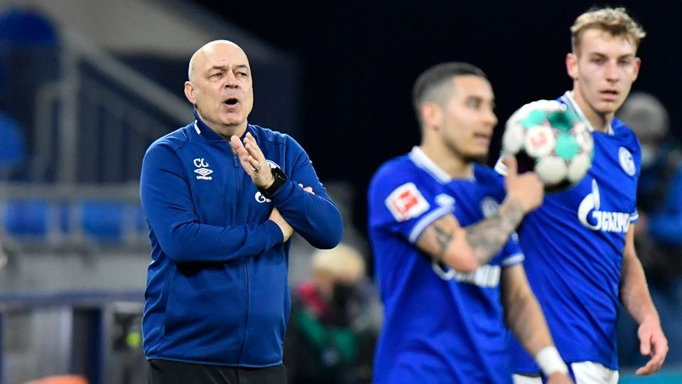 Schalke-Trainer Christian Gross