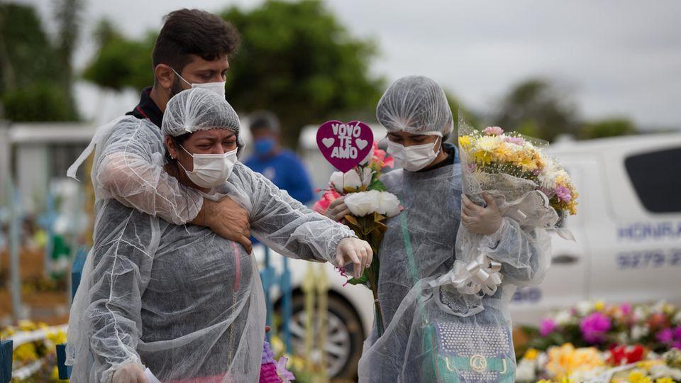 Virus-Mutante in Brasilien: Wenn plötzlich auch die Jungen sterben – die dramatische Lage auf dem Corona-Friedhof von Manaus