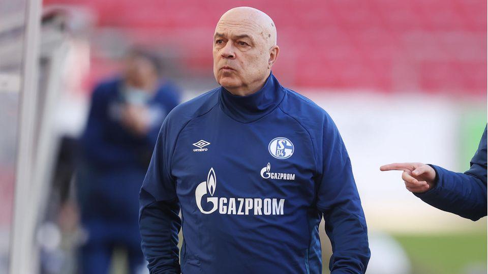 Schalke-TrainerChristian Gross und sein Team wurden entlassen