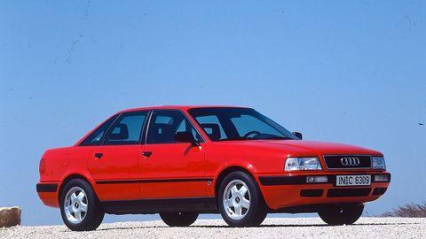 Der Audi 80 B4 basierte auf dem Vorgänger B3
