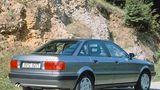 Der Audi 80 B4 1.9 TDI hatte 66 kW / 90 PS
