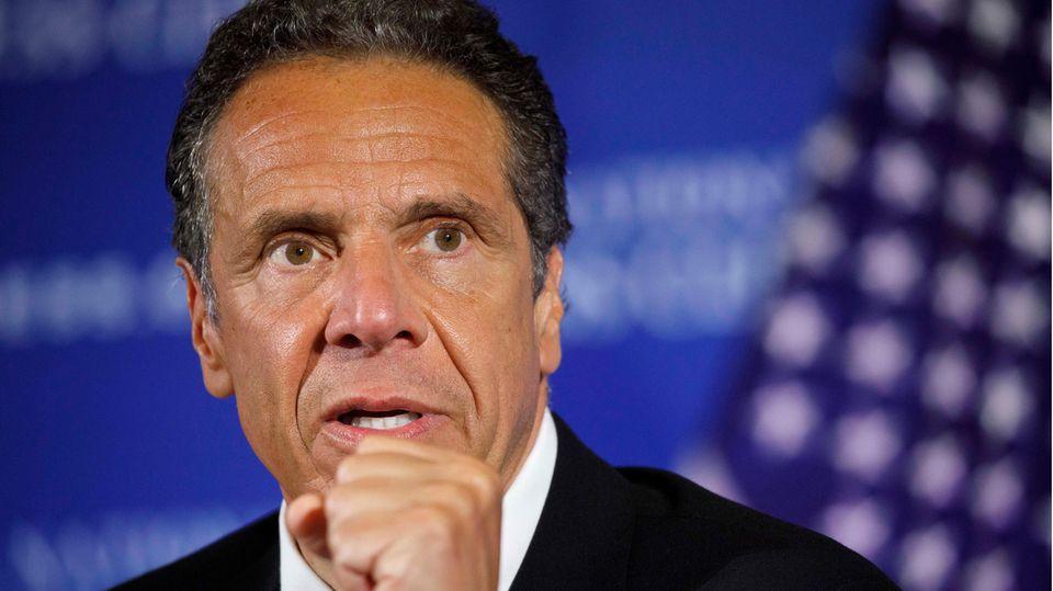 Die Morgenlage: New Yorks Gouverneur Andrew Cuomo äußert sich nach Belästigungsvorwürfen
