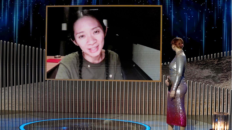 "Golden Globe 2021 – Chloe Zhao, ""Nomadland"""