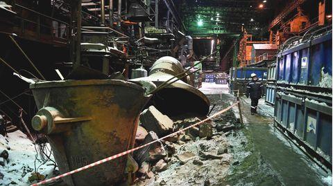In den 74 Betriebsjahren wurden hier 2,4 Millionen Tonnen Nickel produziert