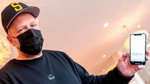 """Rapper Smudo von """"Fantastischen Vier"""" stellt seine Corona-App """"Luca"""" vor"""