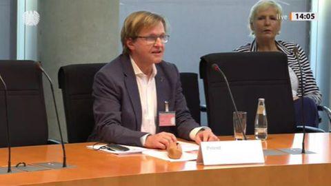 Bernhard Albrecht zu Pflege-Petition