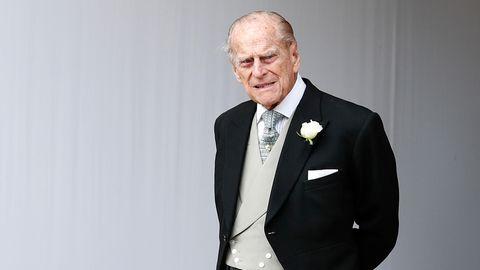 Großbritannien, Windsor: Prinz Philip von Großbritannien (Aufnahme vom 12. Oktober 2018)