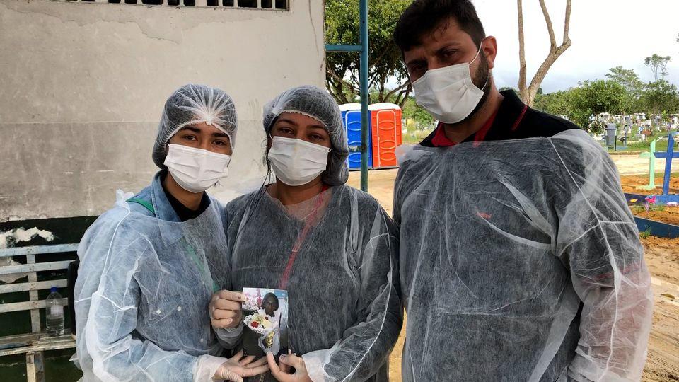 Die Familie Marao trauert um die verstorbene Maria Valdemir