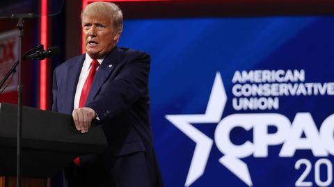 Donald Trump auf der CPAC