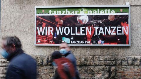 Plakat in Halle (Saale)