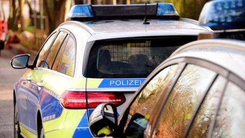 Streifenwagen der Polizei Hamburg
