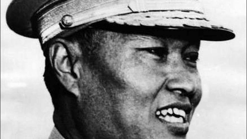 Soldat in Myanmar
