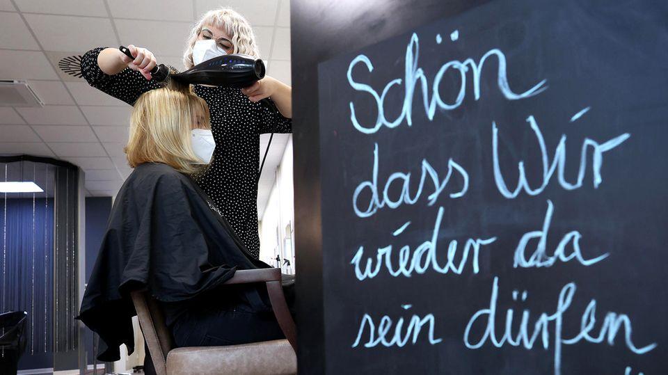 Neue Hygiene Konzepte für Friseure zum März