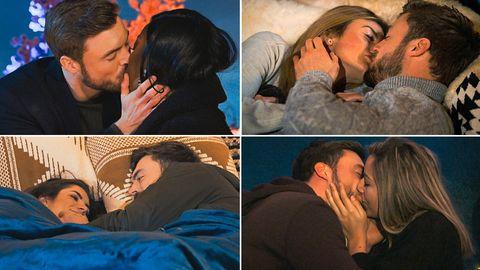 """""""Der Bachelor"""": Niko Griesert küsst Linda, Stephie, Hannah und Michèle"""