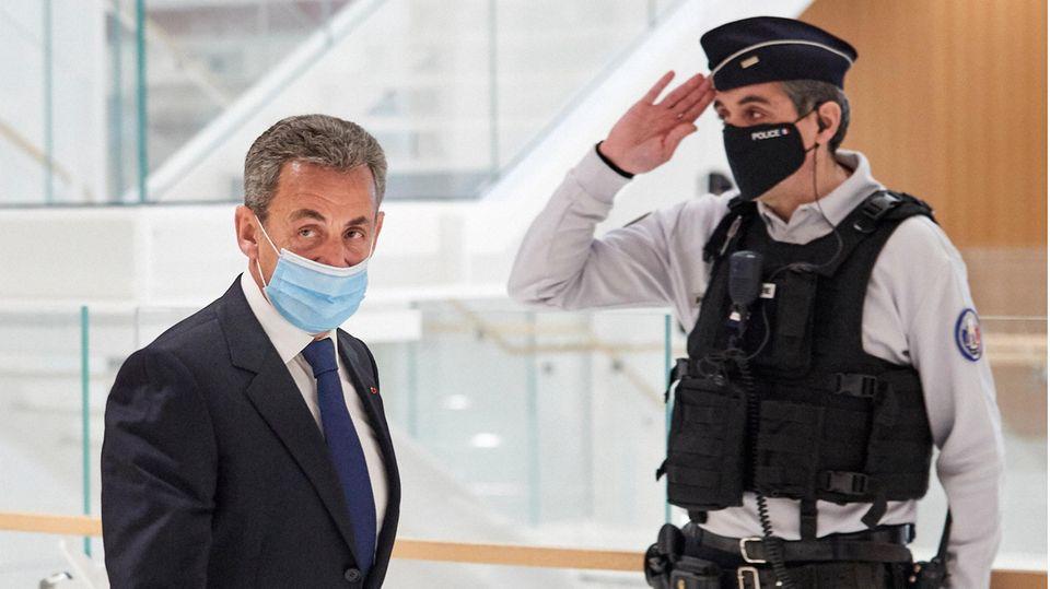 Nicolas Sarkozy, Frankreichs ehemaliger Präsident