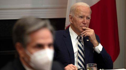 US-Präsident Joe Biden (r.) und sein Außenminister Antony Blinken