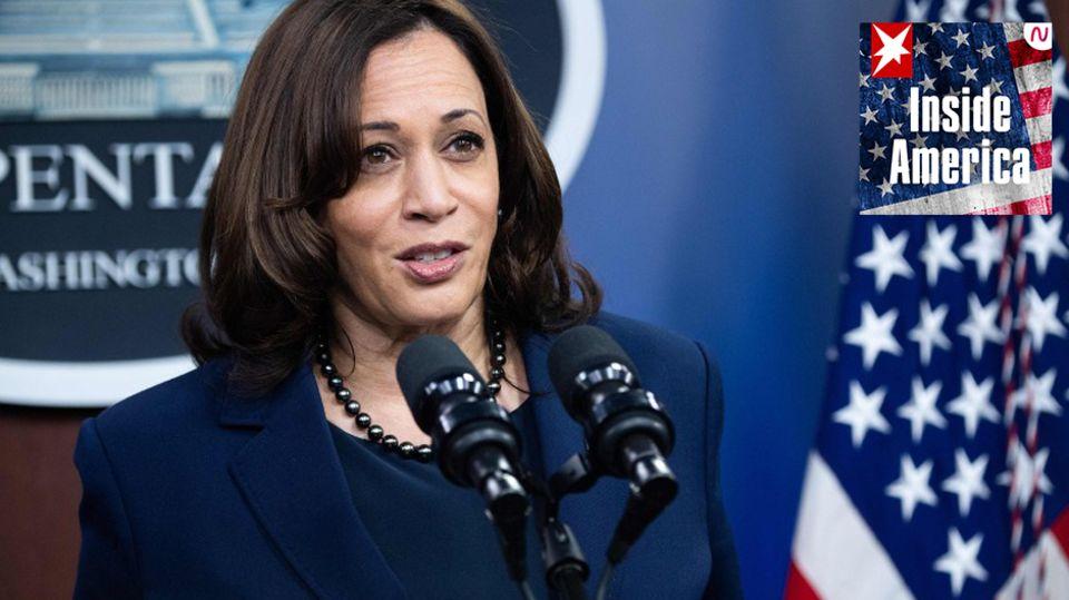 Sie hat aus ihren eigenen Wahlkampf-Fehlern gelernt –und ist bereit für die nächsten vier Jahre: US-Vizepräsidentin Kamala Harris