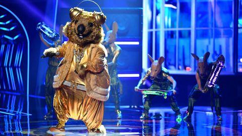 """Die Figur """"das Quokka"""" tritt bei der zweiten Folge ProSieben-Show """"The Masked Singer"""" auf"""