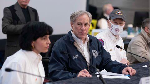 Der Gouverneur von Texas, Greg Abbott