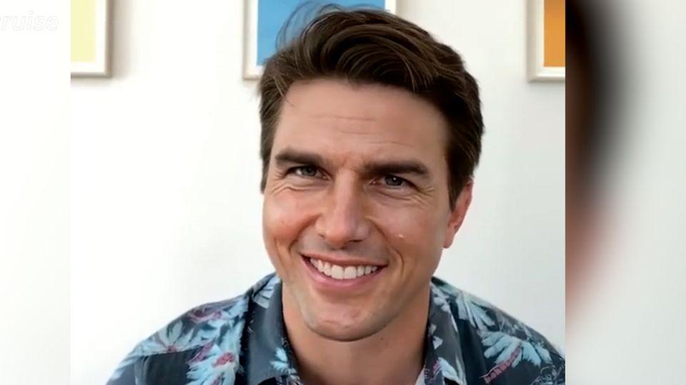 Ist das wirklich Schauspieler Tom Cruise?