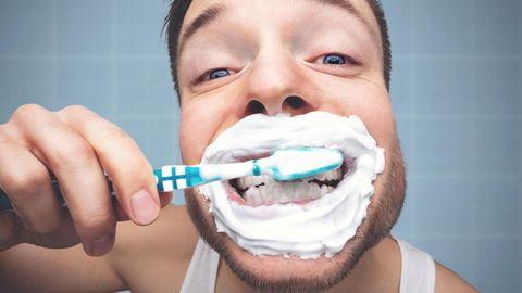 Zähne richtig putzen: Nur wischen, nicht schrubben