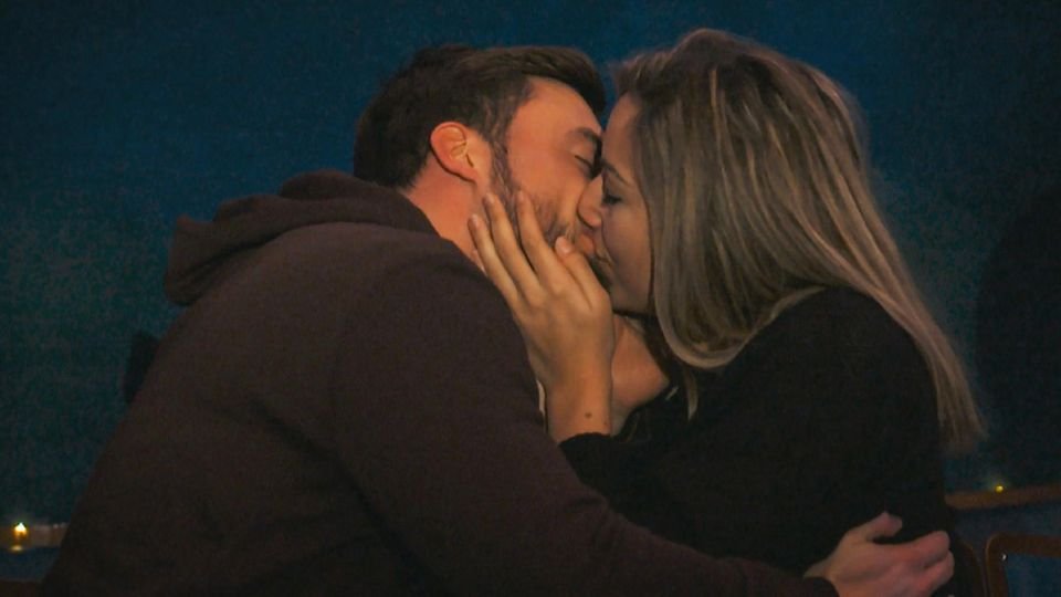 Bachelor Niko Griesert und Hannah Kerschbaumer