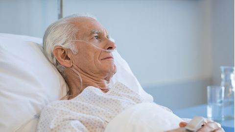 Der Zustand des Patienten verschlechterte sich immer mehr