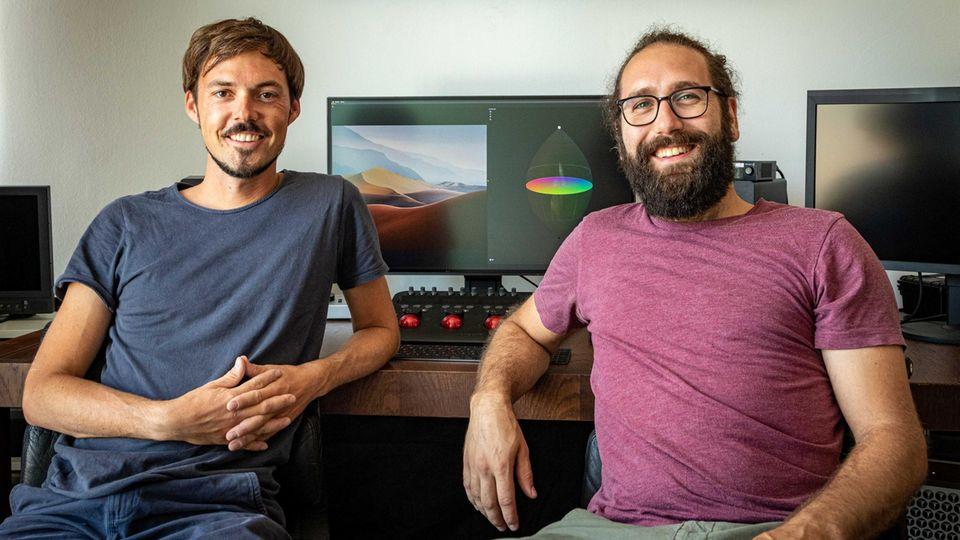 Pirmin Straub und Manuel Hüttel