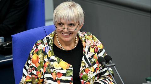 Claudia Roth im Bundestag