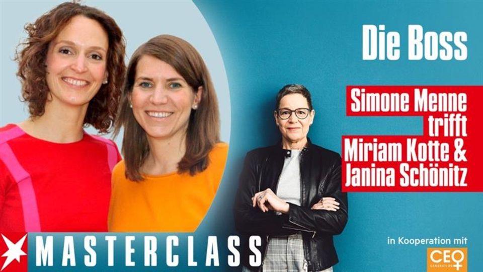 Simone Menne, Miriam Kotte und Janina Schönitz