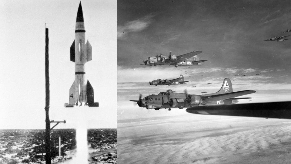 Raketen wie die Wasserfall hatten das Potenzial, den Bombenkrieg zu beenden.