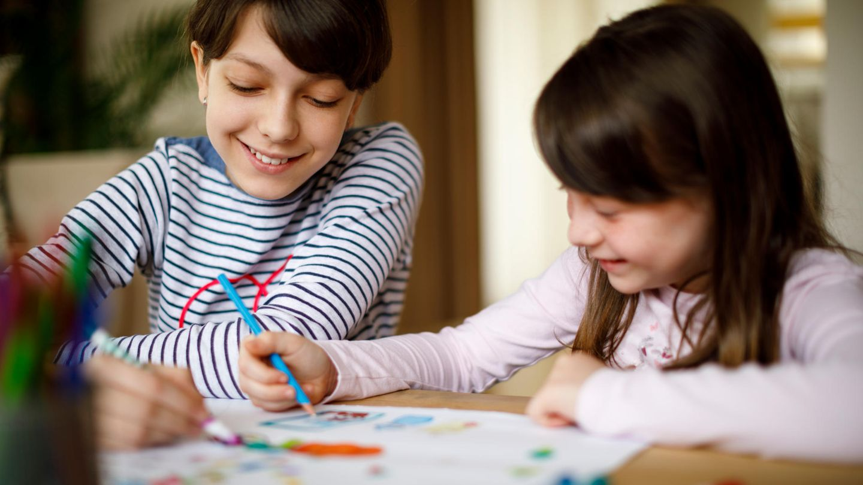 Malbuch für Kinder: kreative Beschäftigung und willkommene Abwechslung
