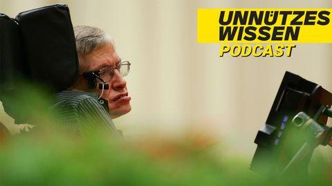 Unnützes Wissen: Warum Stephen Hawking eine Party für Zeitreisende veranstaltete