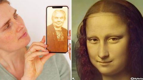 Neues Tool erweckt Mona Lisas Lächeln zum Leben - geht das auch mit meiner Ur-Oma?