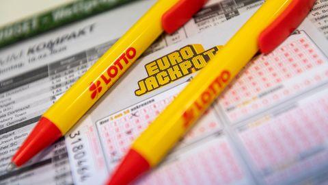 Ein Los für den Eurojackpot