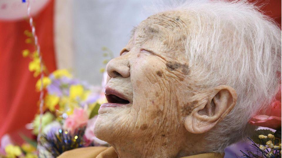 Kane Tanaka ist mit 118 Jahren die älteste lebende Person