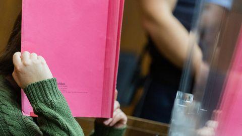 Die verurteilte frühere Erzieherin von Greta einer Viersener Kita im November im Landgericht Mönchengladbach