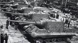 Montage der Jagdpanzer.