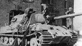 Luftschläge und Artillerie konnten den riesigen Panzer auschalten.