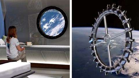 Weltraum-Hotel soll 2025 gebaut werden