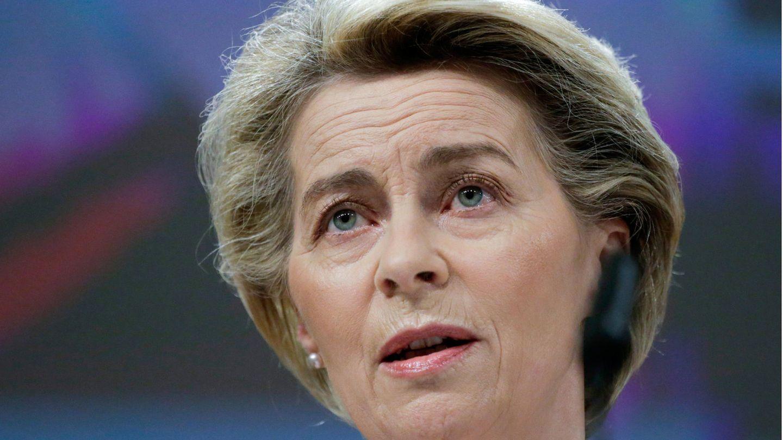EU-Kommissionspräsidentin Ursula von der Leyen