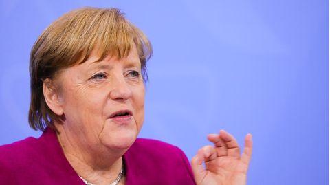 Angela Merkel spricht