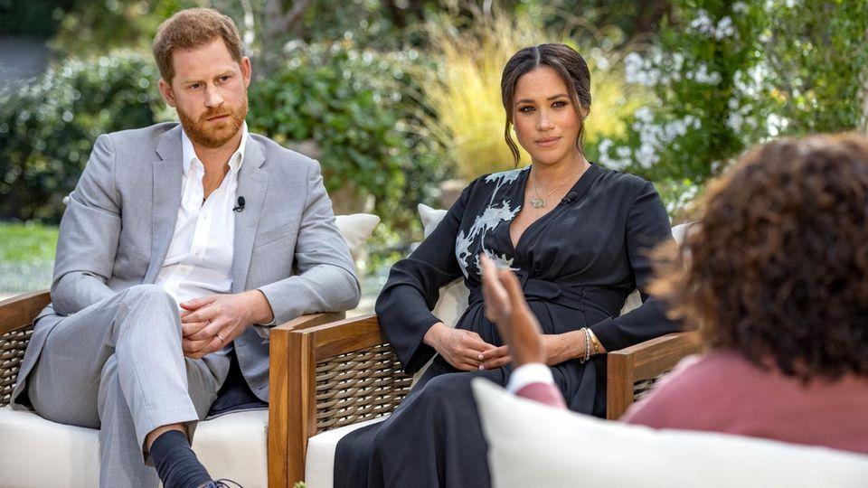 Harry und Meghan bei Orah