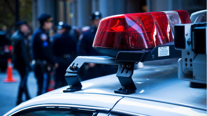 Ein US-Polizeiwagen als Symbolfoto