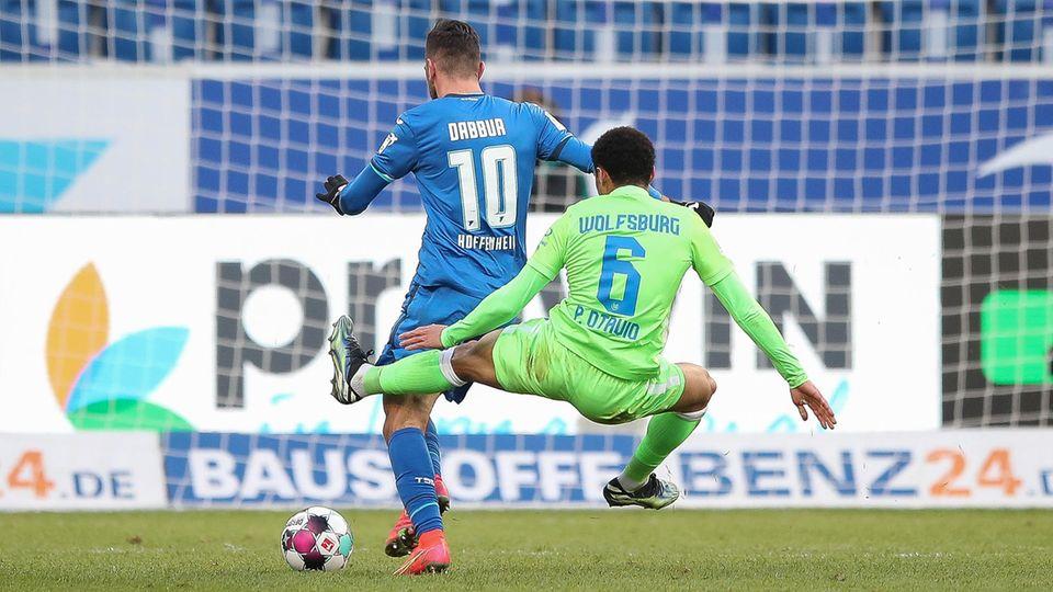 Hoffenheim Wolfsburg Foul