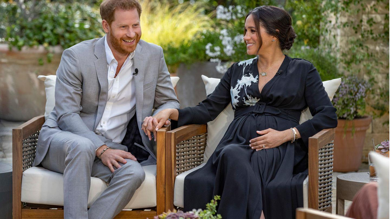 Harry und Meghan mit Oprah Winfrey