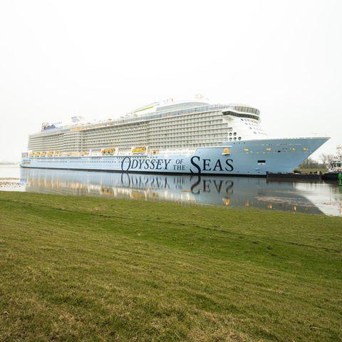 Coronavirus: Corona-Fälle auf neuem Kreuzfahrtschiff - Arbeiter sitzen in Bremerhaven fest